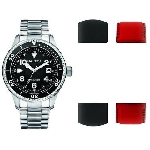 Nautica Box Set Mens Watch A25593G