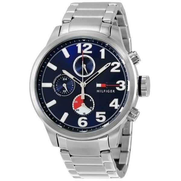 Tommy Hilfiger Jackson Stainless Steel Chronograph Mens Watch 1791242