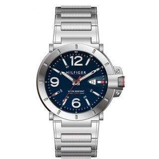 Tommy Hilfiger Turbo Stainless Steel Mens Watch 1791258
