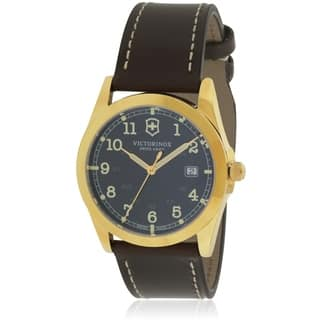 Swiss Army Victorinox Infantry Leather Mens Watch 241645|https://ak1.ostkcdn.com/images/products/17804125/P23998498.jpg?impolicy=medium