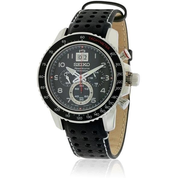 Seiko Sportura Mens Watch SPC139P1, Black, Size One Size ...