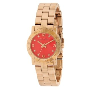 Marc by Marc Jacobs Amy Gold-Tone Ladies Watch MBM3305