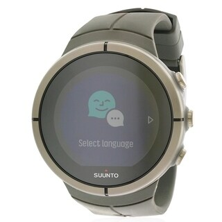 Suunto Spartan Ultra Stealth Titanium Chest Heart Rate Monitor Mens Watch SS022656000