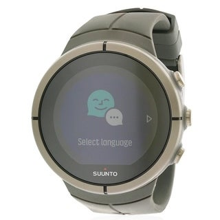 Suunto Spartan Ultra Stealth Titanium Chest Heart Rate Monitor Mens Watch SS022656000