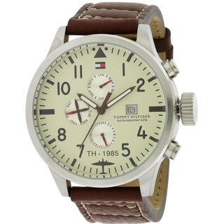 Tommy Hilfiger Leather Mens Watch 1790684