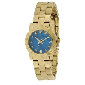 Marc Jacobs Amy Gold-Tone Ladies Watch MBM3304, Gold, Siz...