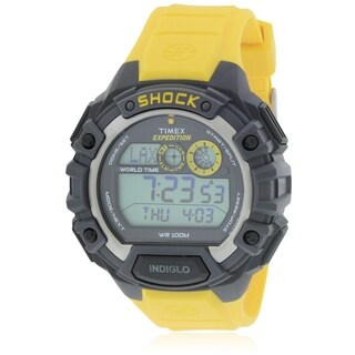 Timex Expedition World Shock Alarm Chronograph Rubber Mens Watch T49974