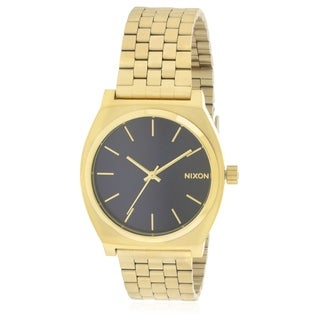 Nixon Time Teller Gold-Tone Mens Watch A0451931
