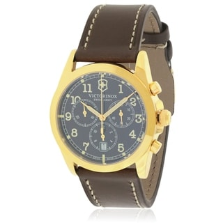 Link to Swiss Army Victorinox Infantry Chronograph Leather Mens Watch 241647 Similar Items in Men's Watches