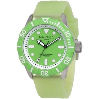 Nautica South Beach Jelly NSR 100 Mens Watch N09605G
