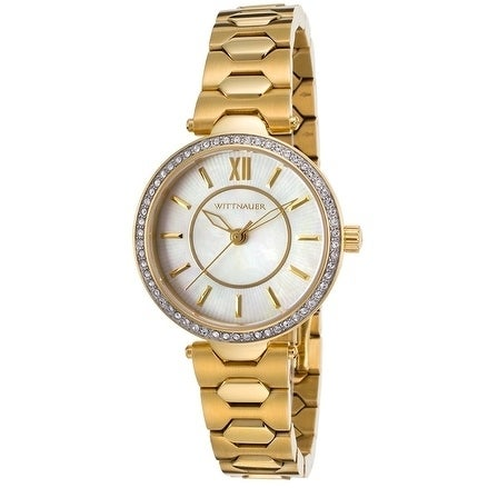 Wittnauer Gold-Tone Stainless Steel Ladies Watch WN4021, ...