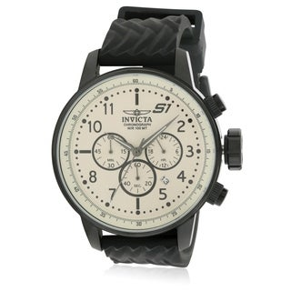 Invicta 1 Rally Silicone Chronograph Mens Watch 23813