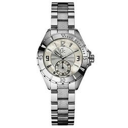 Guess Gc Swiss Ladies Watch G70000L1, Mother of Pearl, Si...
