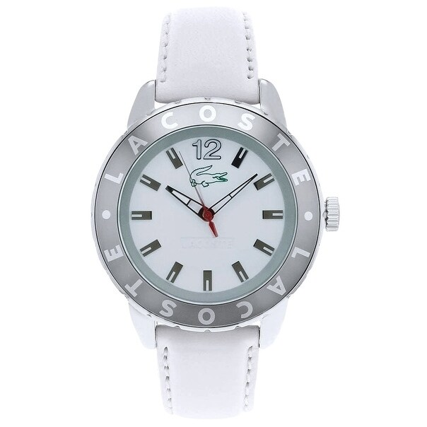 Lacoste Club Ladies Watch 2000667, White, Size One Size F...