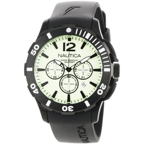 Nautica BFD 101 Black Resin Mens Watch N20059G