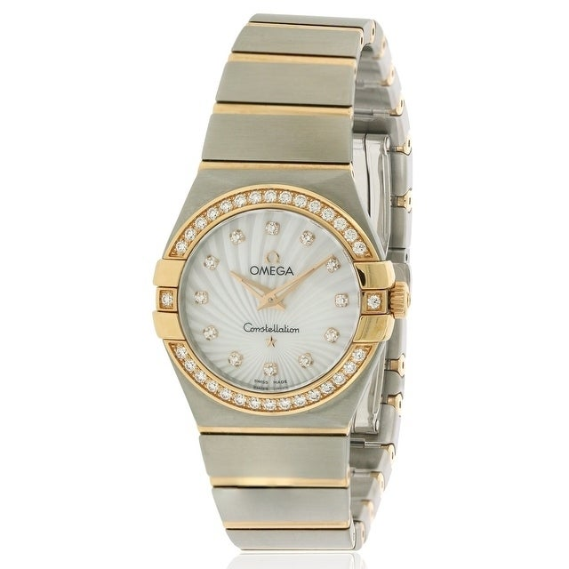 Omega Constellation Stainless Steel Ladies Watch 123.25.2...