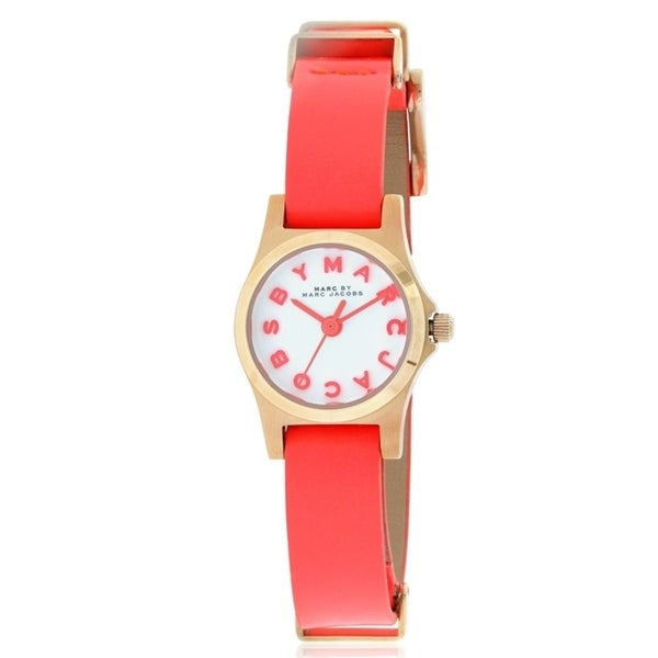 Marc by Marc Jacobs Henry Leather Ladies Watch MBM1315. Opens flyout.