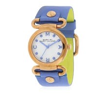 Marc by Marc Jacobs Small Molly River Leather Ladies Watch MBM1307