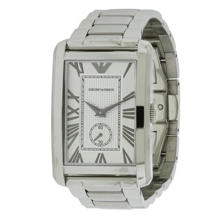Emporio Armani Stainless Steel Mens Watch AR1607