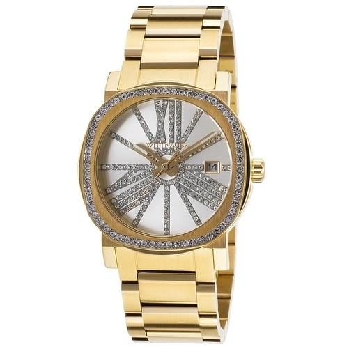 Wittnauer Gold-Tone Stainless Steel Ladies Watch WN4007, ...