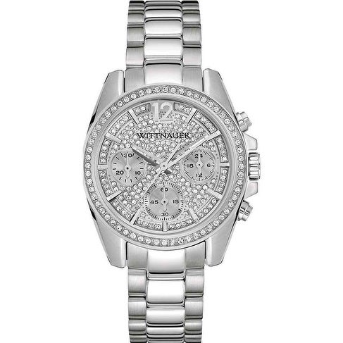 Wittnauer Lucy Chronograph Stainless Steel Ladies Watch W...