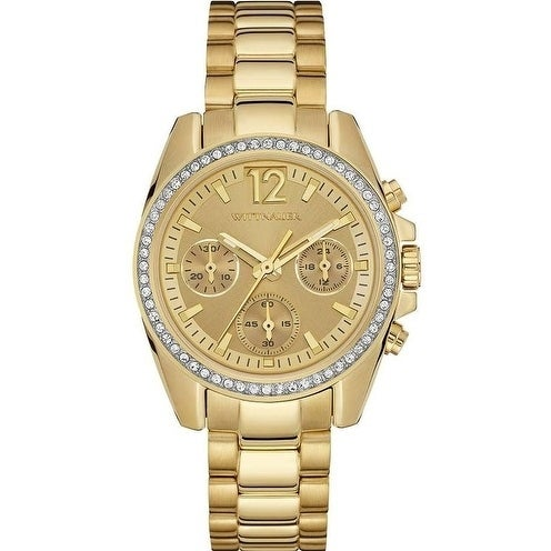 Wittnauer Lucy Chronograph Gold-Tone Ladies Watch WN4074,...