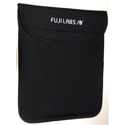 Fuji Labs Professional iPad Sleeve Black for iPad 2, 3, 4 & other suitable-size portable devices (Black)