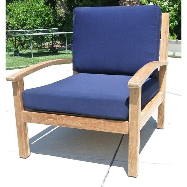 Shop Willow Creek Outdoor Sunbrella Lounge Chair Cushion Free