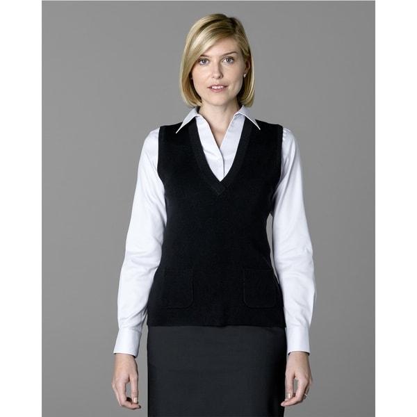 Twin Hill Womens Sweater Vets Black Super Soft V-Neck - Free ...