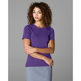 Twin Hill Womens Sweater Purple Rayon/Nylon (Option: S)