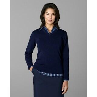 Twin Hill Womens Sweater Navy Rayon/Nylon