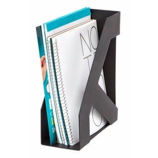 Link to IRIS Large Magazine Holder, 8 Pack (Black) Similar Items in Filing Storage & Accessories