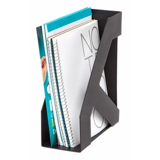 IRIS Large Magazine Holder, 8 Pack (Black)