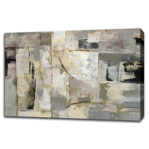 Walking Down The Street By Silvia Vassileva, Gallery Wrap Canvas