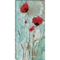 Splash Poppies II By Catherine Brink - 22 x 44