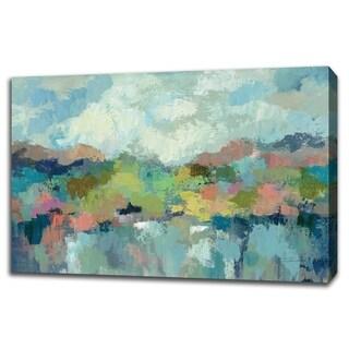 Abstract Lakeside By Silvia Vassileva, Gallery Wrap Canvas