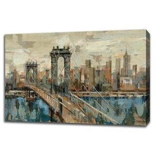 New York View By Silvia Vassileva, Gallery Wrap Canvas