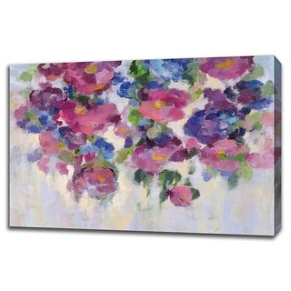 Pink And Blue I By Silvia Vassileva, Gallery Wrap Canvas