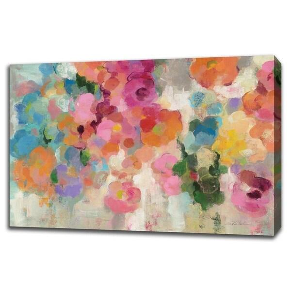 Colorful Garden I By Silvia Vassileva, Gallery Wrap Canvas - 45 x 30
