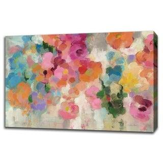 Colorful Garden I By Silvia Vassileva, Gallery Wrap Canvas