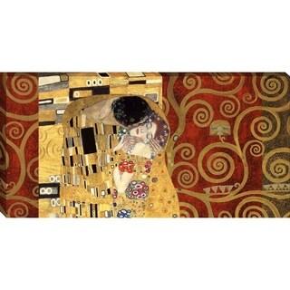 The Kiss-Gold By Gustav Klimt, Wall Art