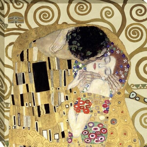 Shop The Kiss By Gustav Klimt, Wall Art - On Sale - Free Shipping ...