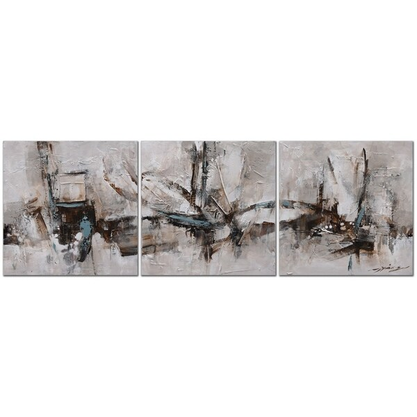 Shop Bridge Of Sighs 3 Piece Set Oil Painting On Canvas Ready To