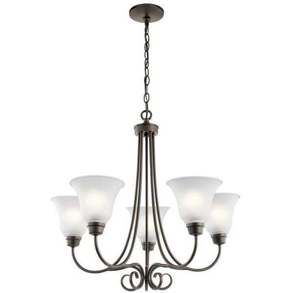 Kichler Lighting Bixler Collection 5-light Olde Bronze Chandelier