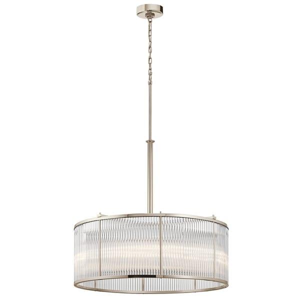 Kichler Lighting Artina Collection 8-light Polished Nickel Pendant
