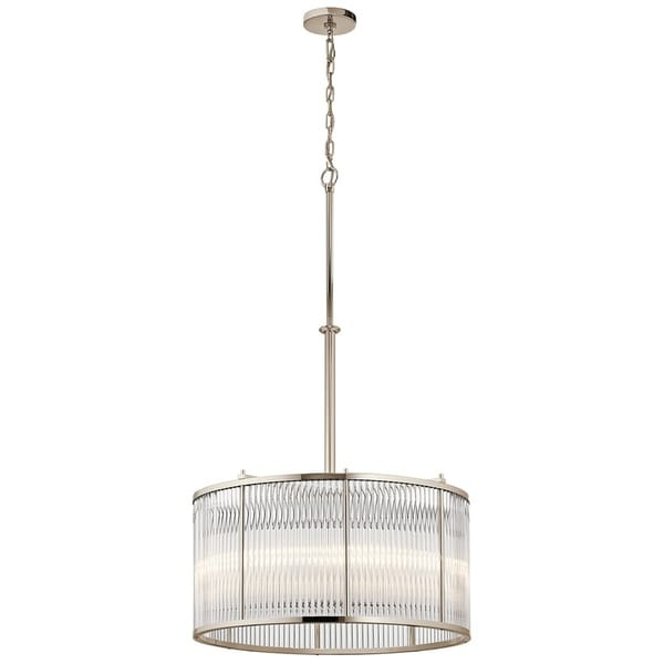 Kichler Lighting Artina Collection 5-light Polished Nickel Pendant