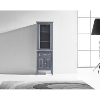 Virtu USA Walton 24-inch Linen Cabinet Only