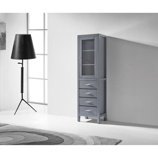 Virtu USA Wellmont 20-inch Linen Cabinet Only