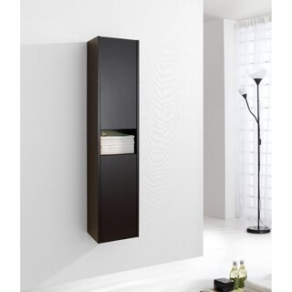 Virtu USA Delmore 12-inch Linen Cabinet Only