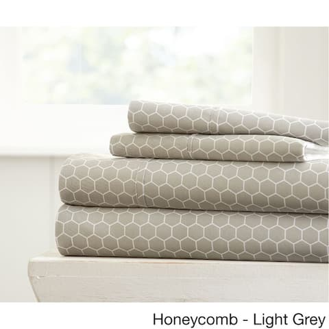 Becky Cameron Ultra Soft Printed 4 Piece Bed Sheet Set